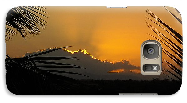 Galaxy Case featuring the photograph Ponce Sunrise by Daniel Sheldon