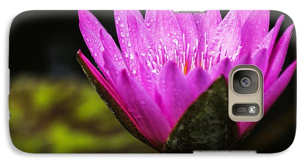 Galaxy Case featuring the photograph Pond Bloom by Robert Pilkington
