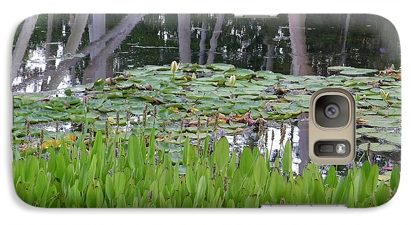 Galaxy Case featuring the photograph Pond  by Nora Boghossian