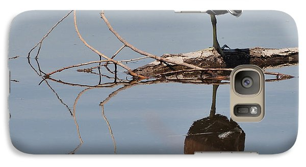 Galaxy Case featuring the photograph Pond Reflection by Debby Pueschel