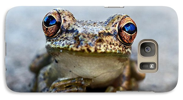 Pondering Frog Galaxy Case by Laura Fasulo