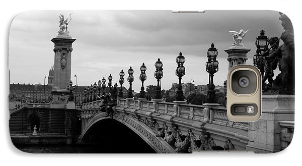 Galaxy Case featuring the photograph Pont Alexander by Lisa Parrish