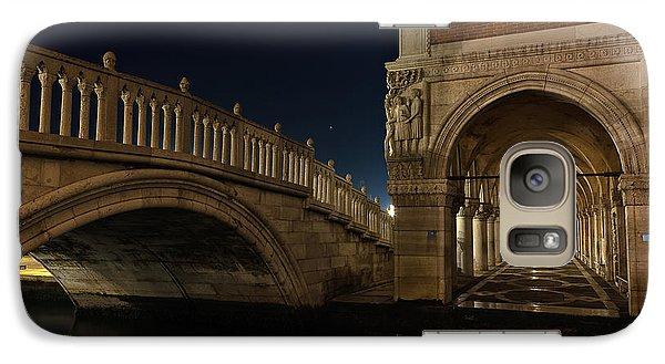 Galaxy Case featuring the photograph Ponte Della Paglia by Marion Galt