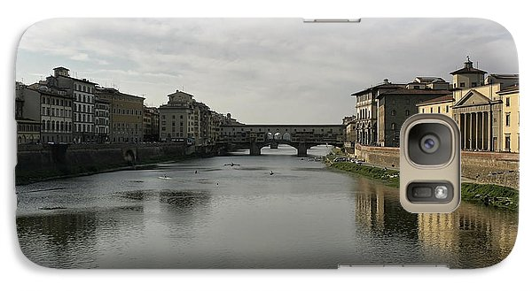 Galaxy Case featuring the photograph Ponte Vecchio by Belinda Greb