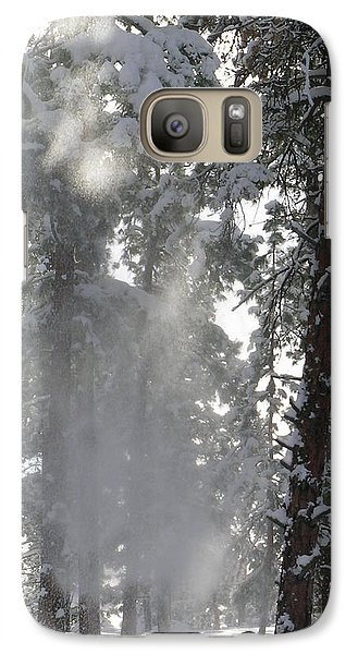 Galaxy Case featuring the photograph Poof by Jennifer Lake