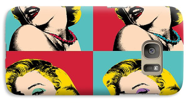Pop Art Collage  Galaxy S7 Case by Mark Ashkenazi
