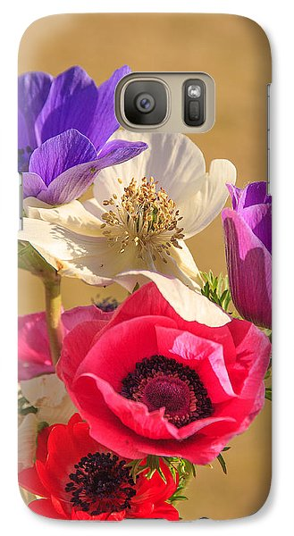 Galaxy Case featuring the photograph Poppies by Patricia Schaefer
