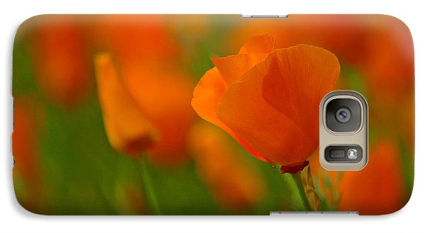 Galaxy Case featuring the photograph Poppy Art by Nick  Boren