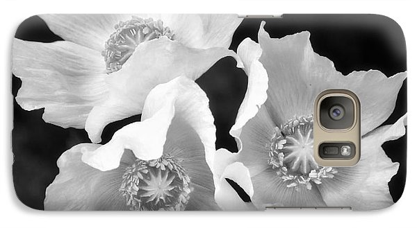 Galaxy Case featuring the photograph Poppy Flower by Nicola Fiscarelli