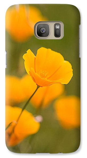 Galaxy Case featuring the photograph Poppy I by Ronda Kimbrow