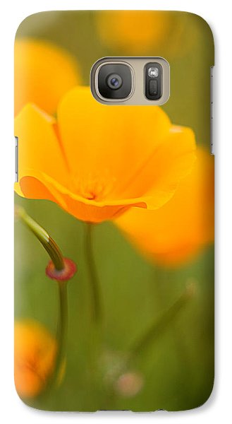 Galaxy Case featuring the photograph Poppy II by Ronda Kimbrow