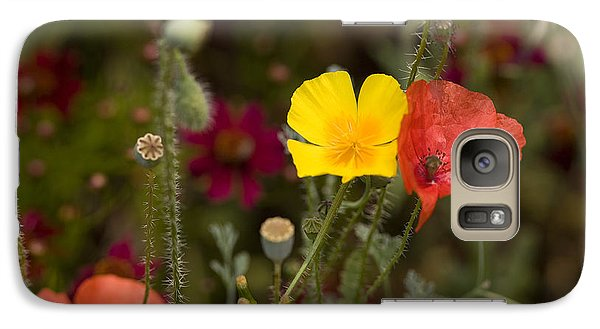 Galaxy Case featuring the photograph Poppy Love by Mark Greenberg