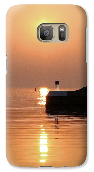 Galaxy Case featuring the photograph Port Elgin by The Art Of Marilyn Ridoutt-Greene