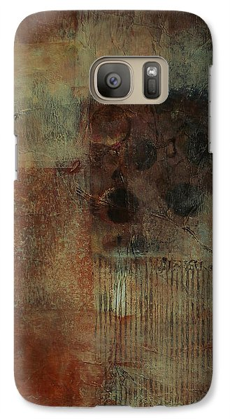 Galaxy Case featuring the painting Portal by Buck Buchheister