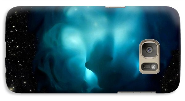 Galaxy Case featuring the mixed media Portal by Steed Edwards