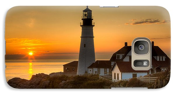 Portland Head Light At Sunrise II Galaxy S7 Case