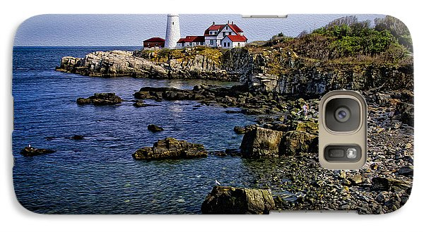 Portland Headlight 37 Oil Galaxy S7 Case