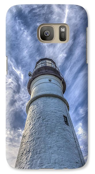 Galaxy Case featuring the photograph Portland Headlight by Jane Luxton