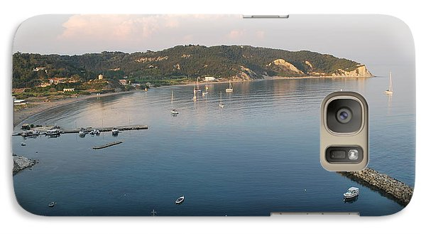 Galaxy Case featuring the photograph Porto Bay by George Katechis