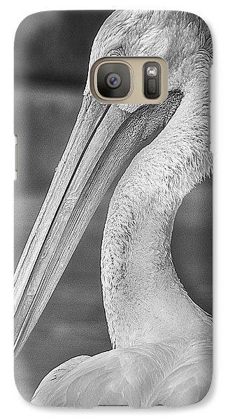 Portrait Of A Pelican Galaxy Case by Jon Woodhams