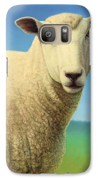 Portrait Of A Sheep Galaxy S7 Case