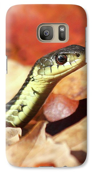 Galaxy Case featuring the photograph Portrait Of A Snake by Doris Potter