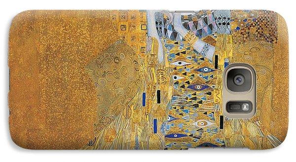 Portrait Of Adele Bloch-bauer I Galaxy Case by Gustav Klimt