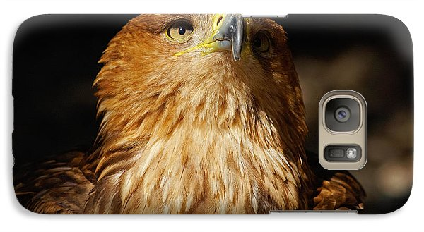 Galaxy Case featuring the photograph Portrait Of An Eastern Imperial Eagle by Nick  Biemans