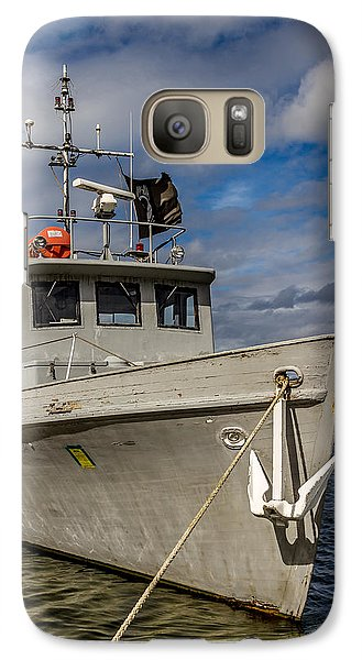 Galaxy Case featuring the photograph Portrait Of Ship by Rob Green