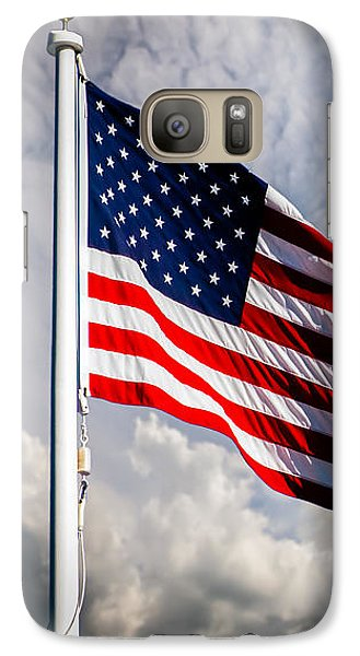 Portrait Of The United States Of America Flag Galaxy S7 Case