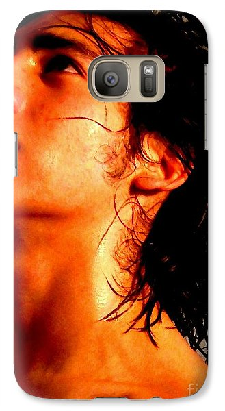Galaxy Case featuring the photograph Portrait Two Orlando by Robert D McBain