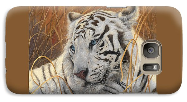 Portrait White Tiger 1 Galaxy S7 Case