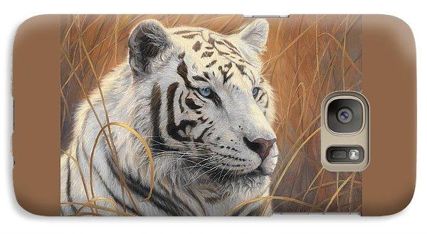 Portrait White Tiger 2 Galaxy S7 Case