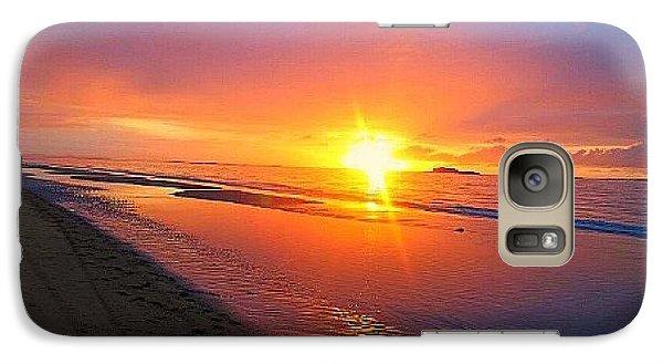 Galaxy Case featuring the photograph Portrush Sunset by Tara Potts