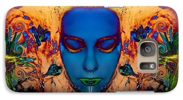 Galaxy Case featuring the photograph Poseidons Maiden by Heather King