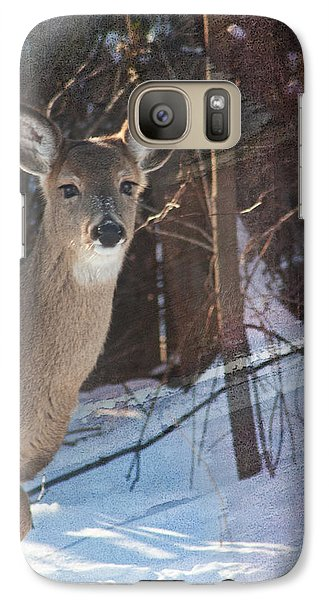 Galaxy Case featuring the photograph Posing For Me by Terri Harper