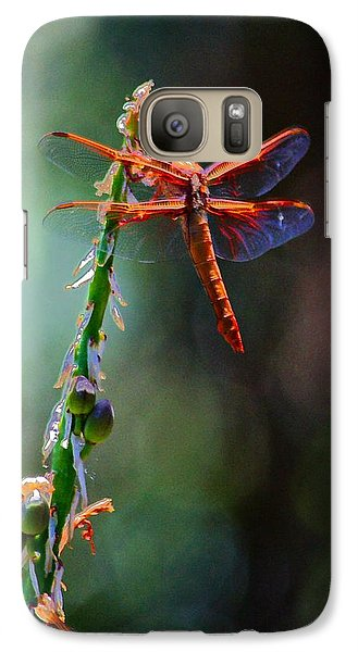 Galaxy Case featuring the photograph Positive Forces by Patrick Witz
