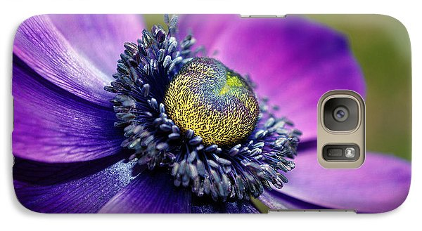 Galaxy Case featuring the photograph Positively Purple by Kjirsten Collier