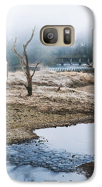 Galaxy Case featuring the photograph Post Apocalyptic Landscape by Trevor Chriss