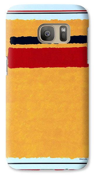 Galaxy Case featuring the painting Post Modern Modern by Thomas Gronowski