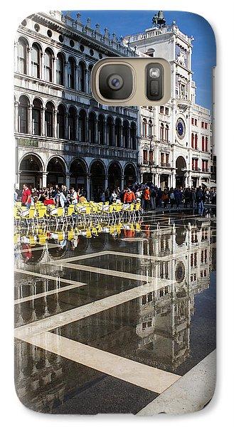 Galaxy Case featuring the photograph Postcard From Venice by Georgia Mizuleva
