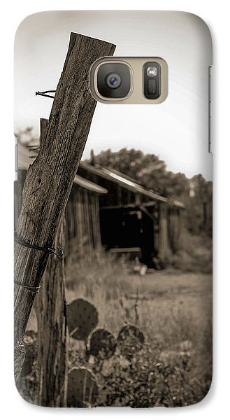 Galaxy Case featuring the photograph Posted In Time by Amber Kresge