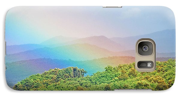 Galaxy Case featuring the photograph Pot Of Gold At The End Of The Rainbow by Ankya Klay