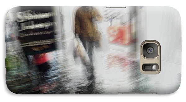 Galaxy S7 Case featuring the photograph Pounding The Pavement by Alex Lapidus