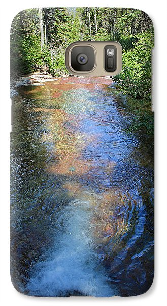 Galaxy Case featuring the photograph Pouring Into Morning Light by Kathleen Scanlan