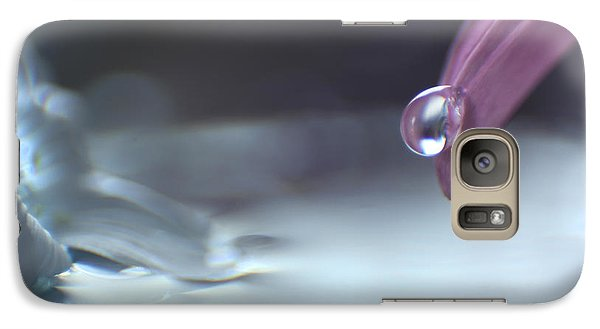Galaxy Case featuring the photograph Pouring Out Abstract by Eden Baed