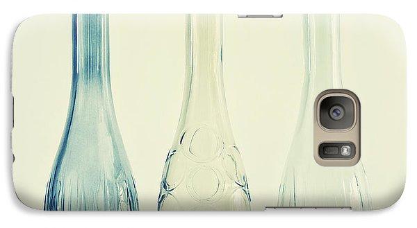 Powder Blue Galaxy S7 Case by Priska Wettstein