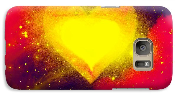 Galaxy Case featuring the painting Power Of Emotion by Persephone Artworks