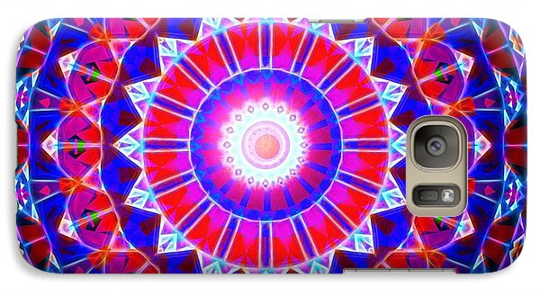 Galaxy Case featuring the digital art Power Of The Circle by Mario Carini