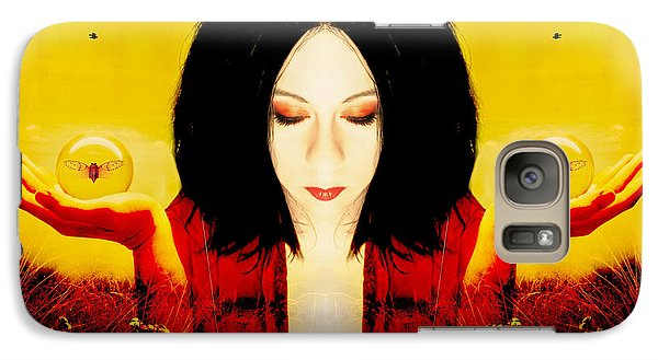 Galaxy Case featuring the photograph Power Over The Past by Heather King